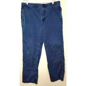 Carbon2cobalt Mens Blue Pants Size 40